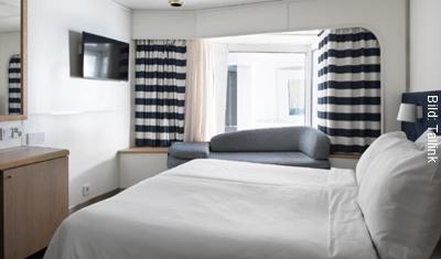 Fähre Stockholm-Helsinki Tallink Deluxe Kabine