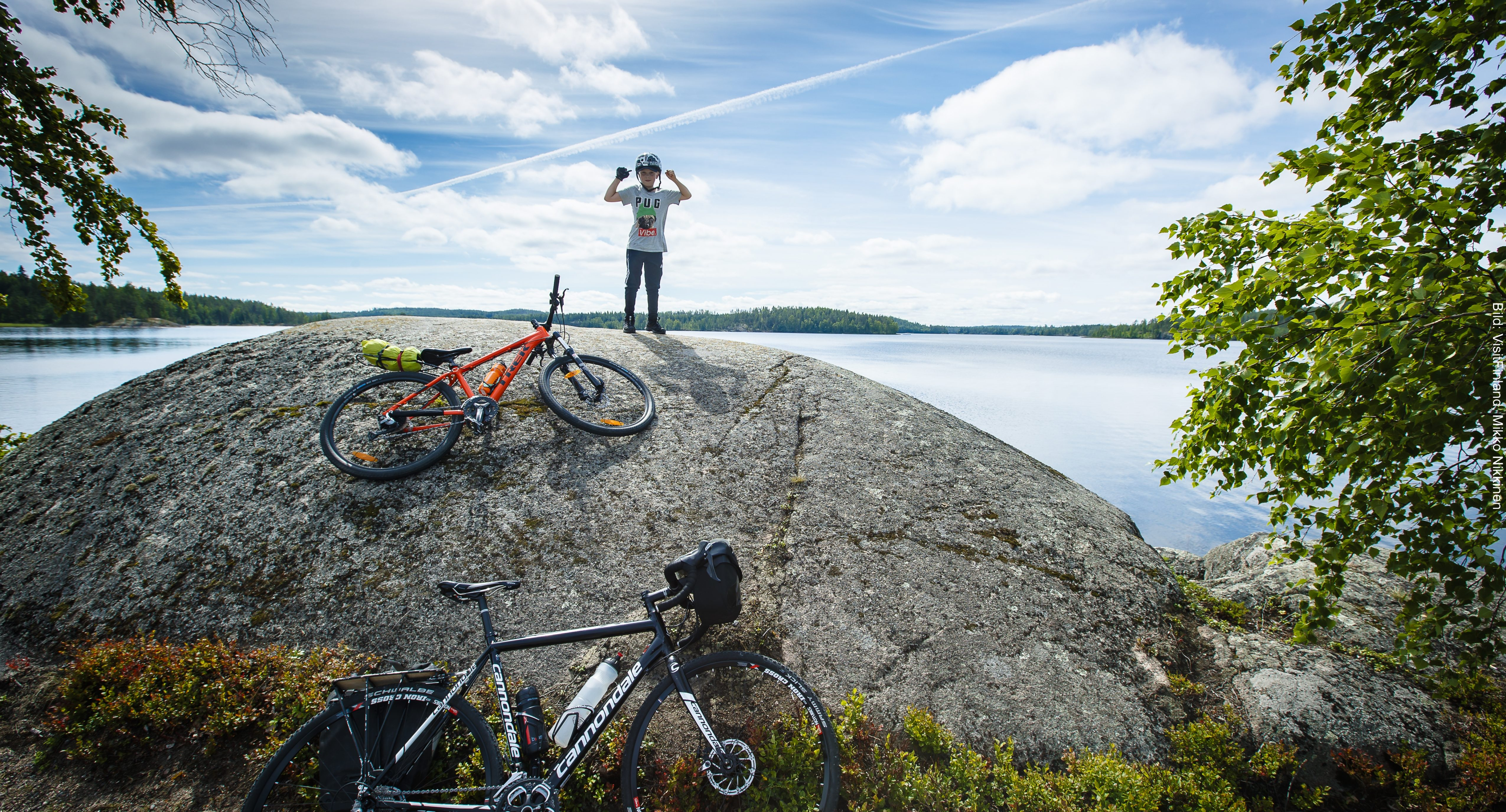 Fähre Finnland Fahrradtour