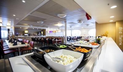 Fähre Stockholm-Helsinki Tallink Restaurant