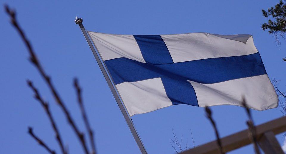 Fähre Finnlad Flagge