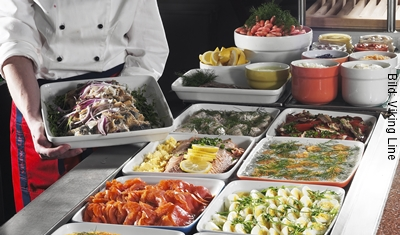 Fähre Stockholm-Turku Viking Line Restaurants