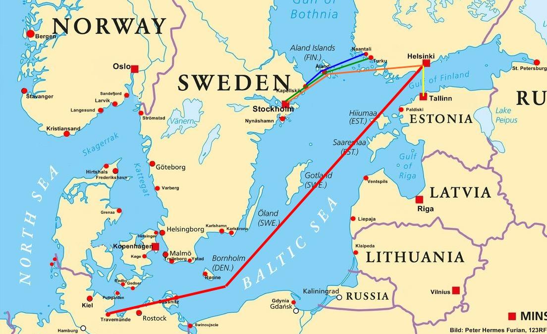 Fähre Finnland alle Fährverbindungen