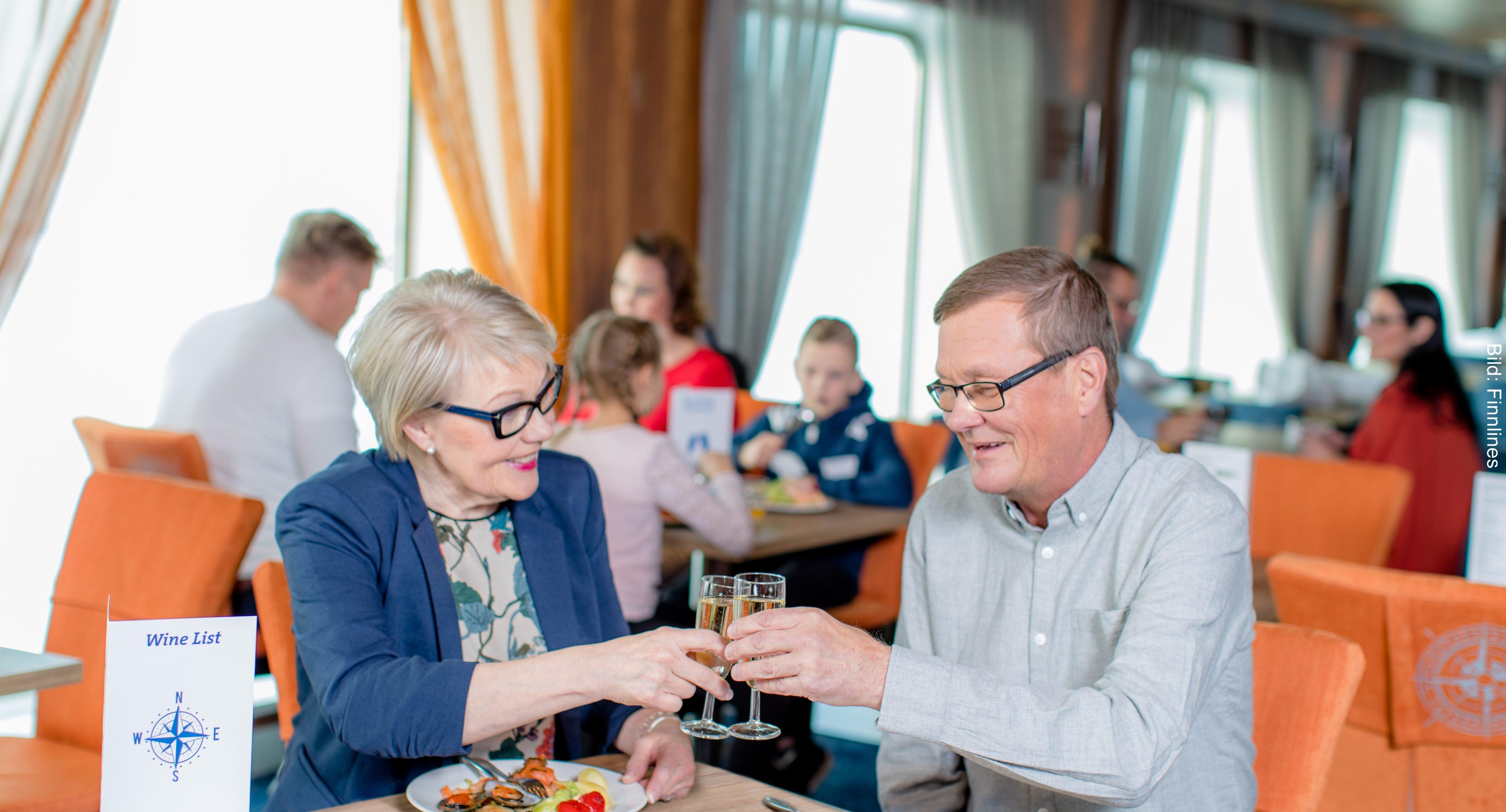 Fähre Travemünde-Helsinki Bistro Navigare