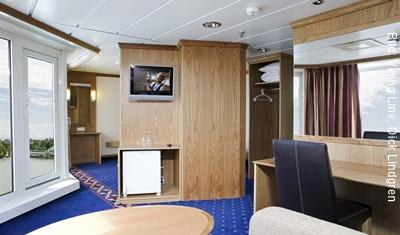 Fähre Stockholm-Helsinki Viking Line Junior Suite