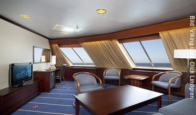 Fähre Stockholm-Helsinki Viking Line Suite