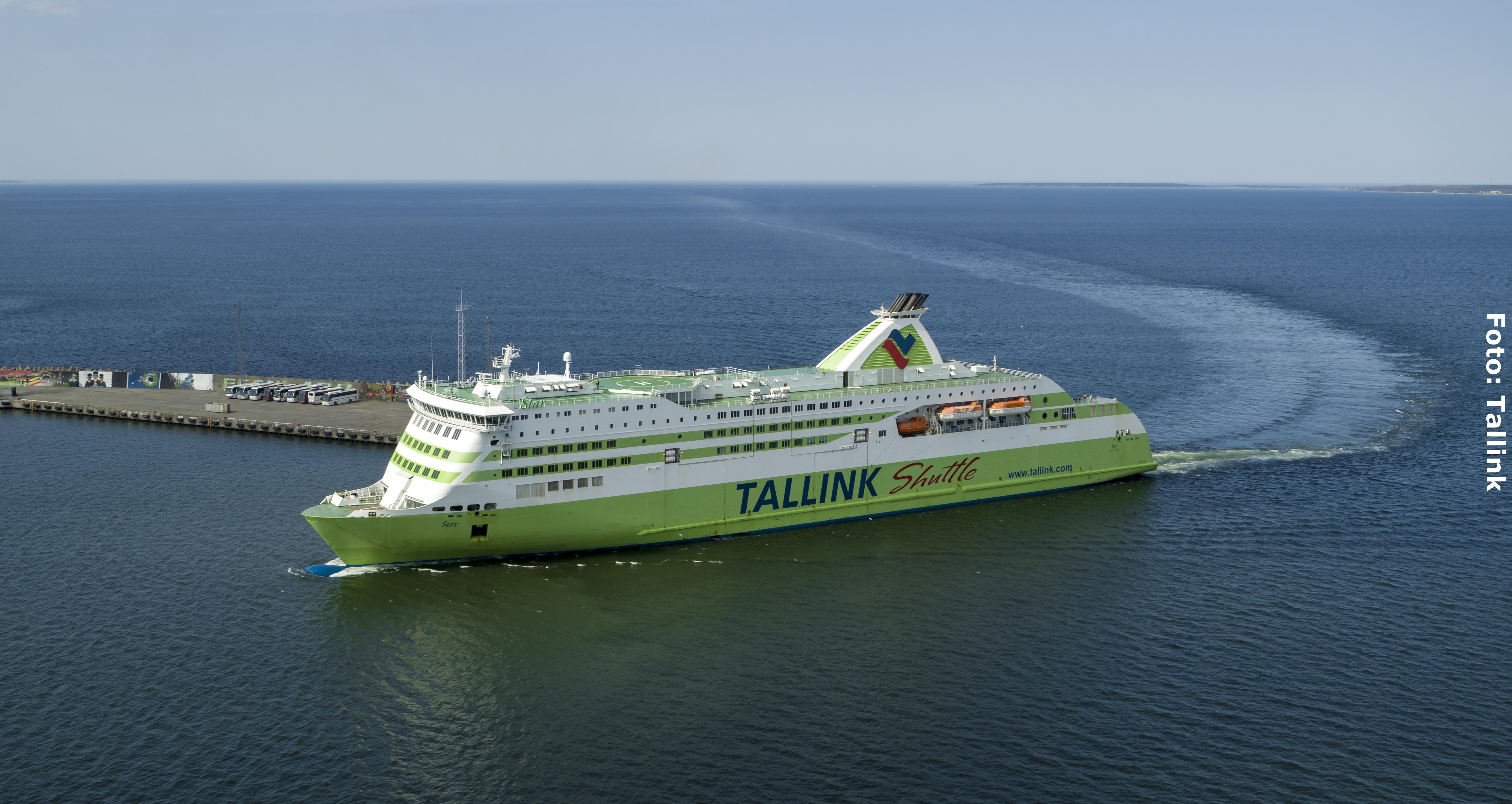 Fähre Helsinki Tallinn-Helsinki