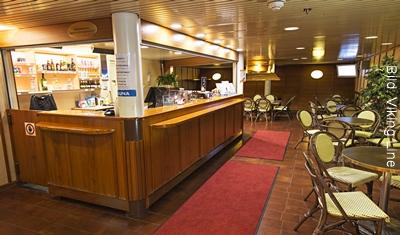 Stockholm-Helsinki Viking Line Saunabereich