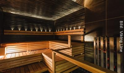 Fähre Stockholm-Turku Viking Line Sauna